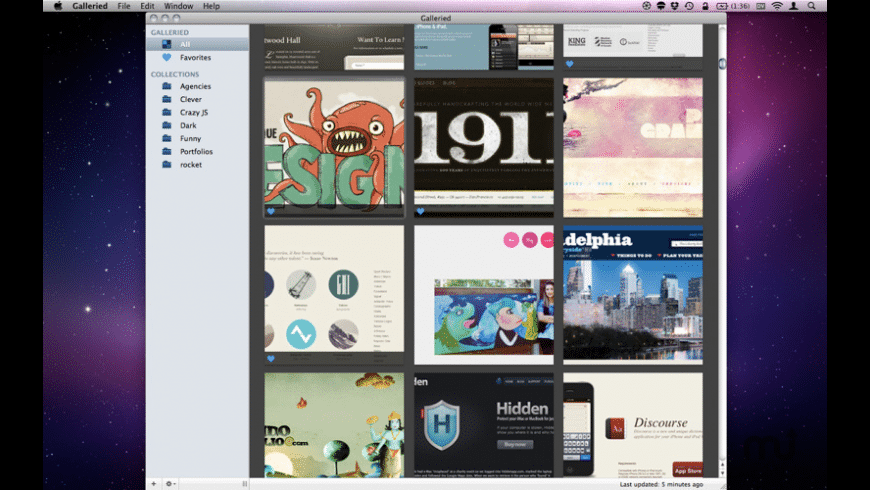 Galleried for Mac - review, screenshots