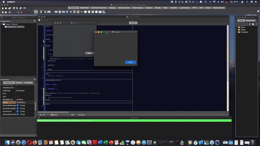 Lazarus for Mac - review, screenshots
