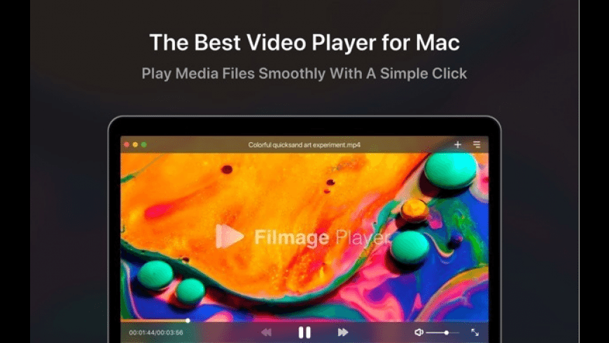 Filmage Player for Mac - review, screenshots