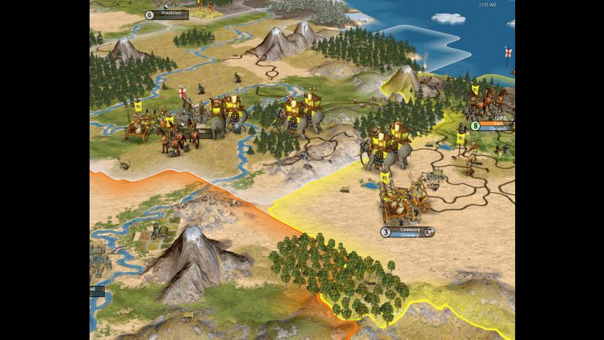 Sid Meier's Civilization IV for Mac - review, screenshots