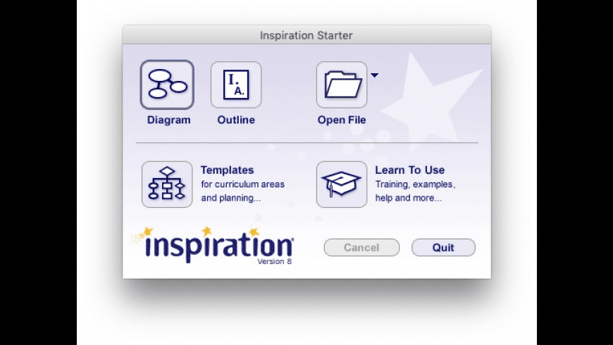 Inspiration for Mac - review, screenshots