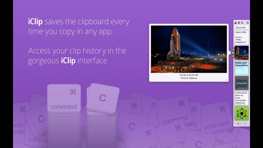 iClip for Mac - review, screenshots