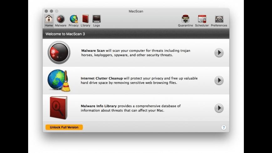 MacScan for Mac - review, screenshots
