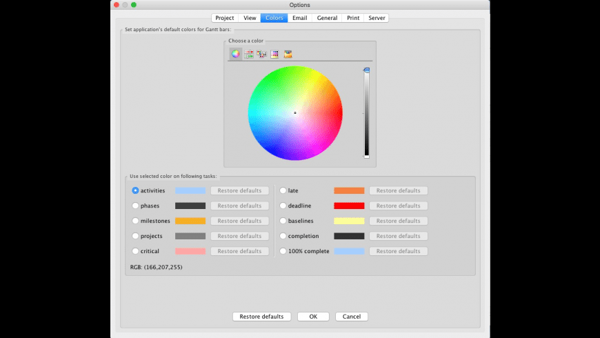 RationalPlan Multi Project for Mac - review, screenshots