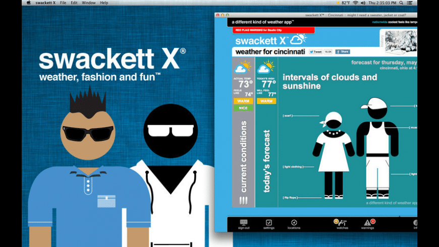 swackett x for Mac - review, screenshots