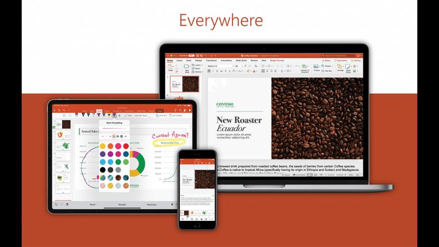 Microsoft PowerPoint for Mac - review, screenshots