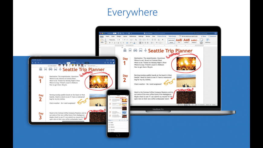 Microsoft Word for Mac - review, screenshots