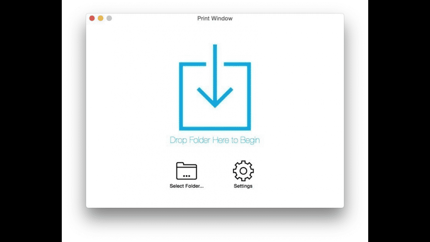 Print Window for Mac - review, screenshots
