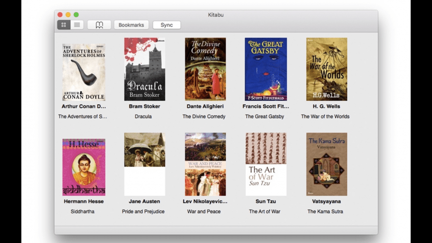 Kitabu for Mac - review, screenshots