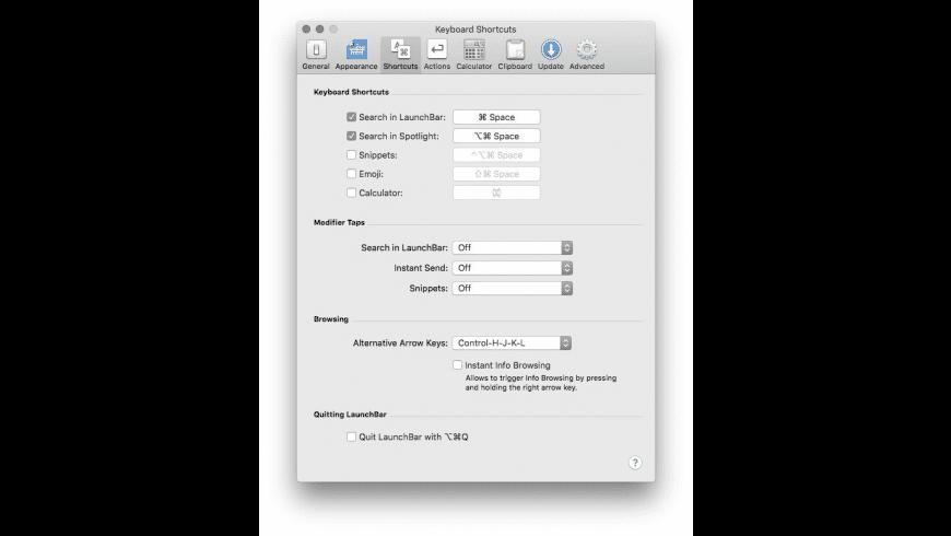LaunchBar for Mac - review, screenshots