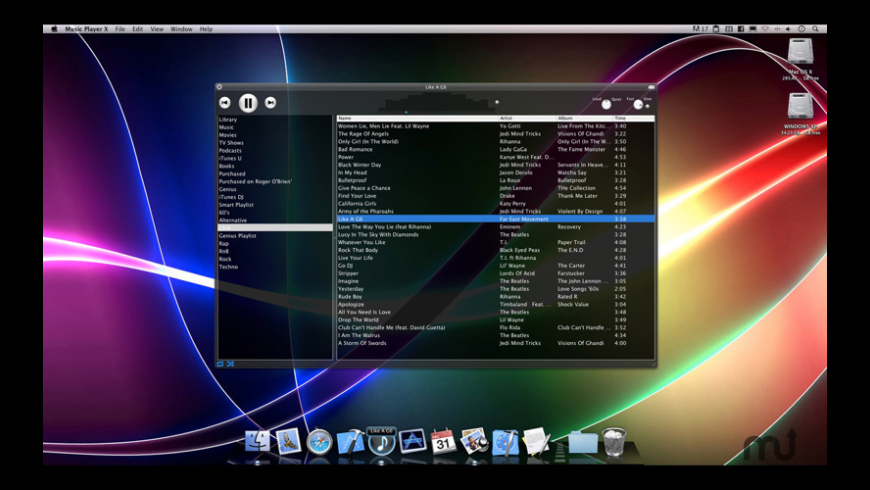 Music Player X for Mac - review, screenshots