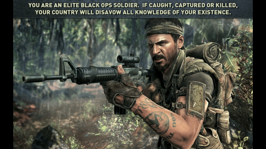 Call of Duty: Black Ops for Mac - review, screenshots