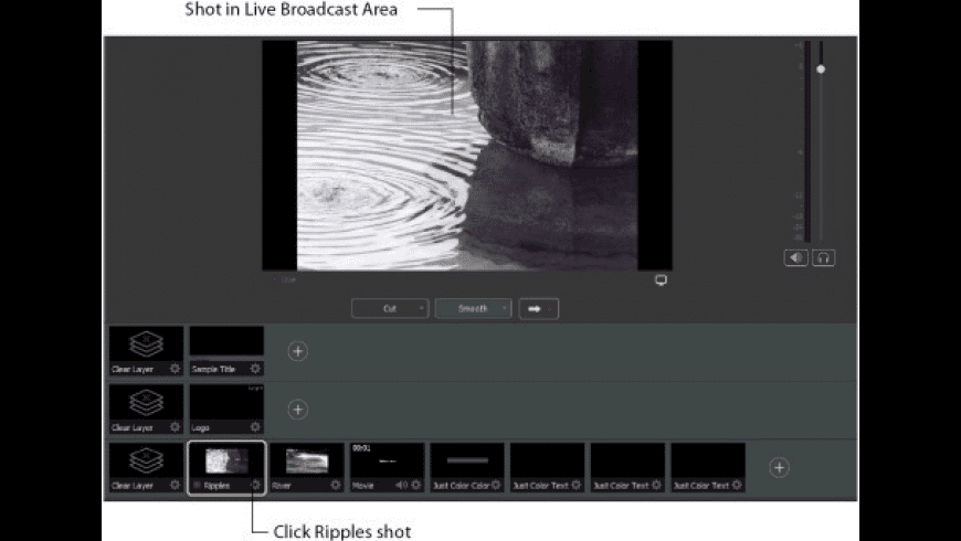 Wirecast for Mac - review, screenshots