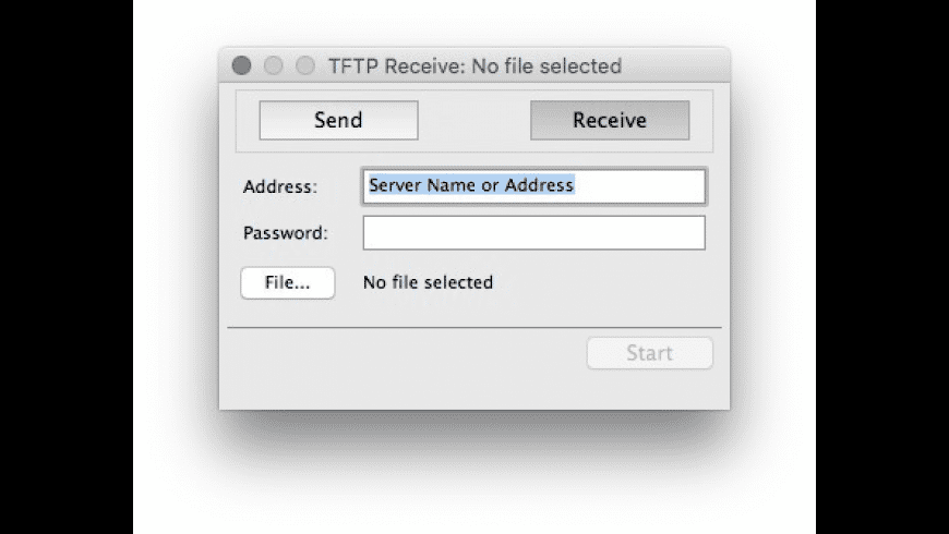 TFTP Client for Mac - review, screenshots