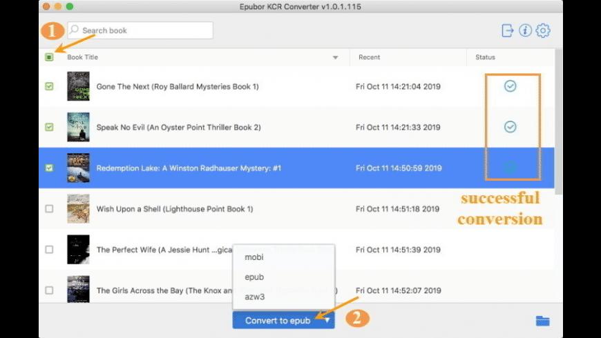 KCR  Converter for Mac - review, screenshots