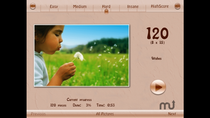 Join It - Jigsaw Puzzle for Mac - review, screenshots