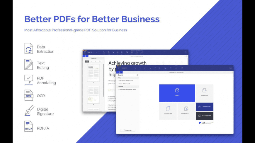PDFelement for Mac - review, screenshots