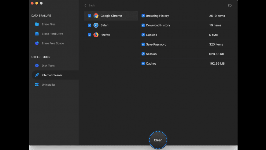 AweEraser for Mac - review, screenshots