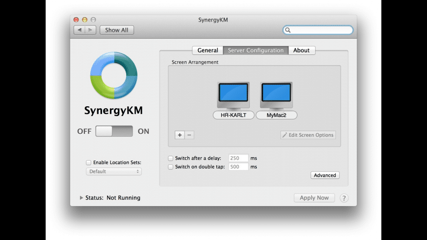 SynergyKM for Mac - review, screenshots