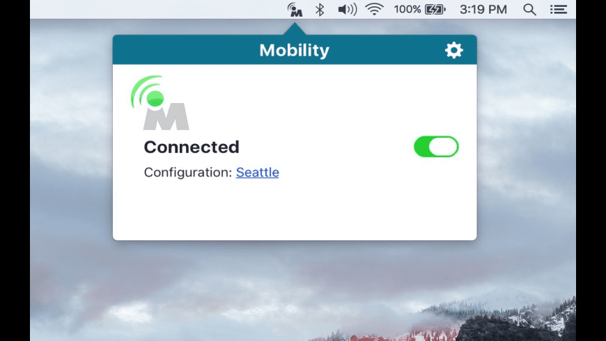 Mobility for Mac - review, screenshots
