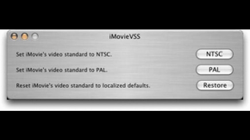 iMovieVSS for Mac - review, screenshots