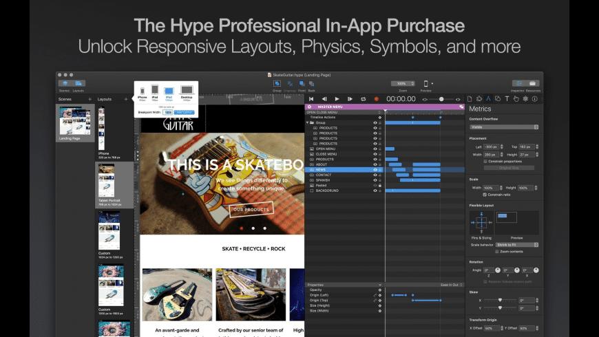 Hype for Mac - review, screenshots