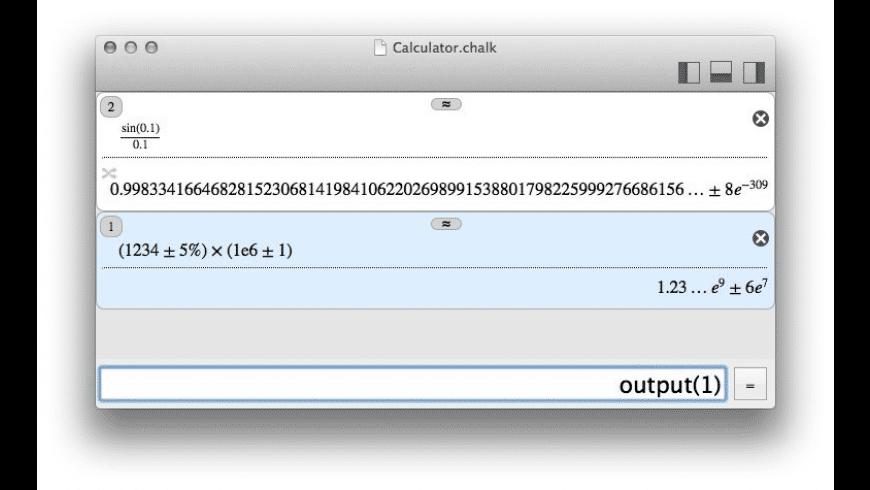 Chalk for Mac - review, screenshots
