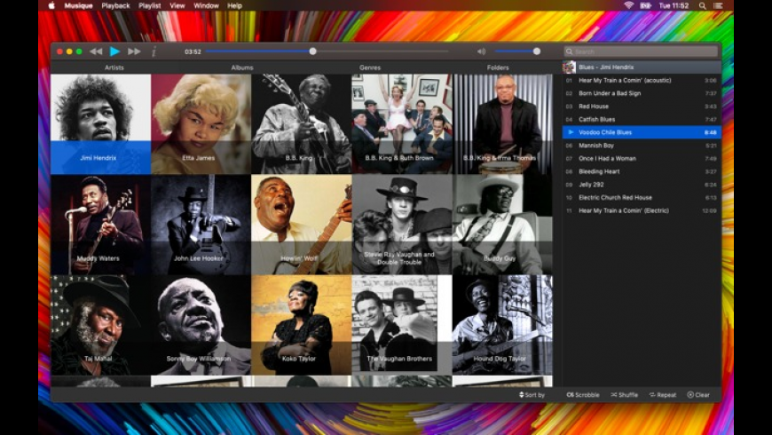 Musique for Mac - review, screenshots