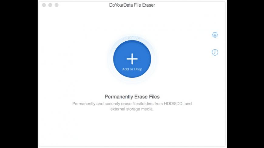 DoYourData File Eraser for Mac - review, screenshots