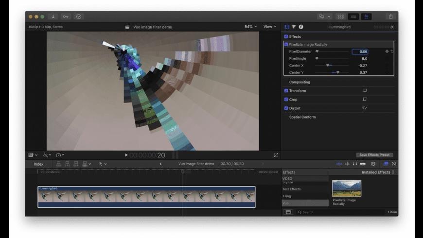 Vuo for Mac - review, screenshots