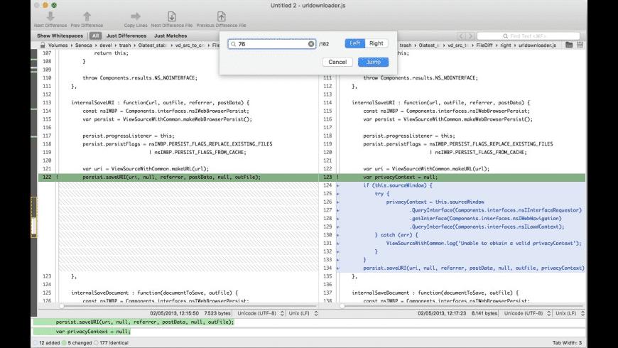VisualDiffer for Mac - review, screenshots