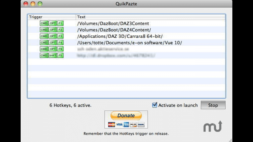 QuikPazte for Mac - review, screenshots