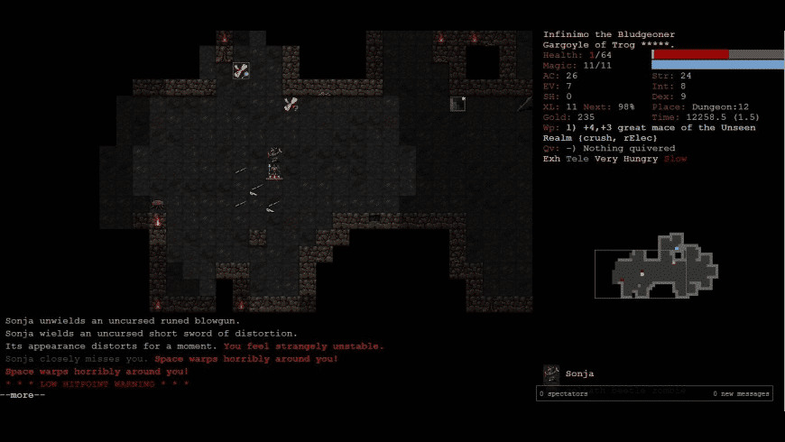Dungeon Crawl Stone Soup for Mac - review, screenshots