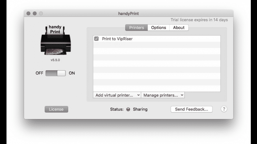 handyPrint for Mac - review, screenshots