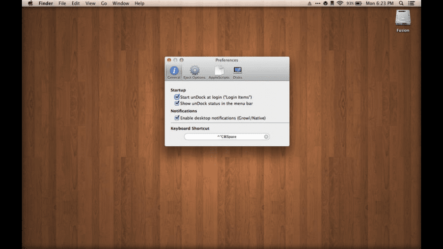 unDock for Mac - review, screenshots