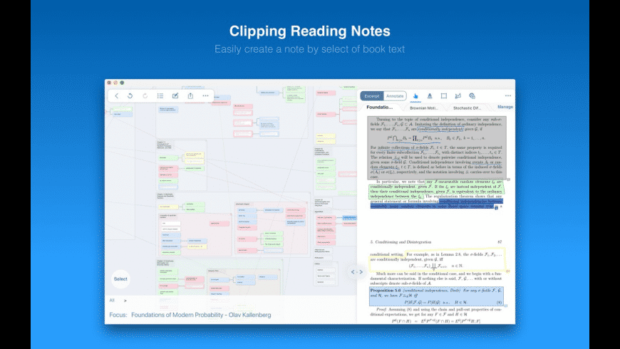 MarginNote for Mac - review, screenshots