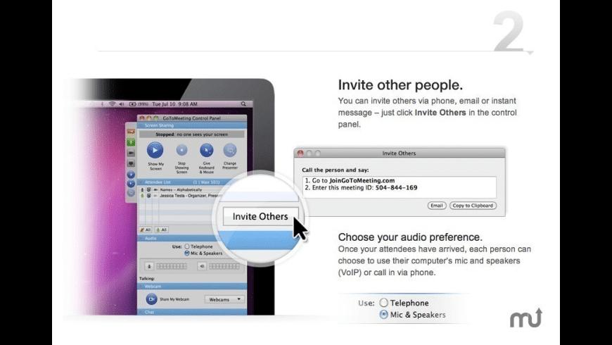 GoToMeeting for Mac - review, screenshots