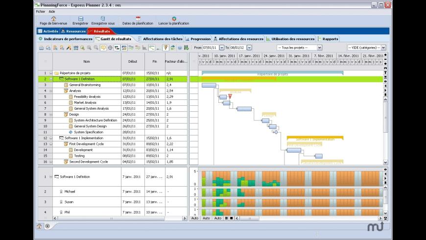 PlanningForce Express Planner for Mac - review, screenshots