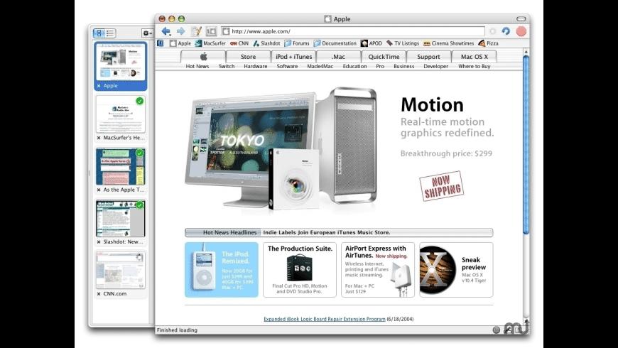OmniWeb for Mac - review, screenshots