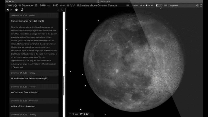 Starry Night Pro for Mac - review, screenshots