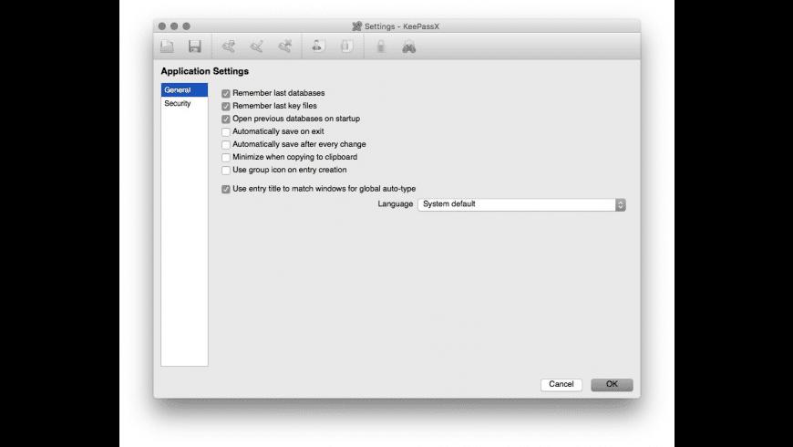 KeePassX for Mac - review, screenshots