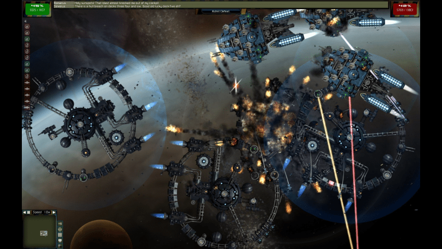 Gratuitous Space Battles for Mac - review, screenshots