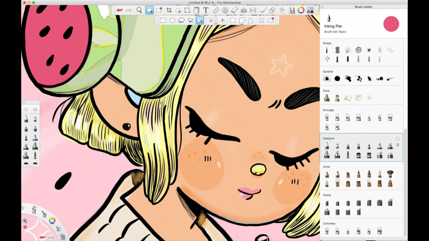 SketchBook Pro for Mac - review, screenshots