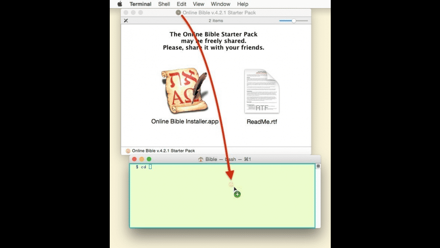 Online Bible for Mac - review, screenshots