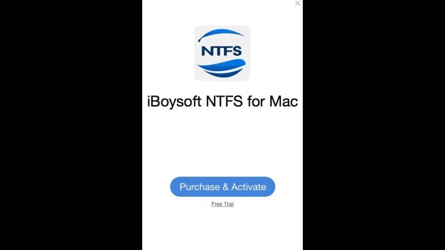 iBoysoft NTFS for Mac - review, screenshots