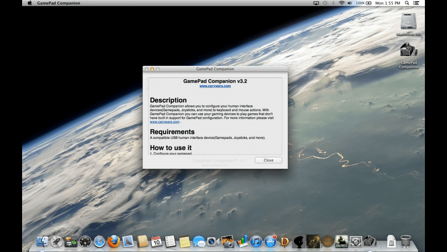 GamePad Companion for Mac - review, screenshots