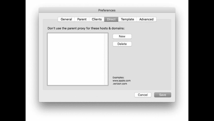 SquidMan for Mac - review, screenshots