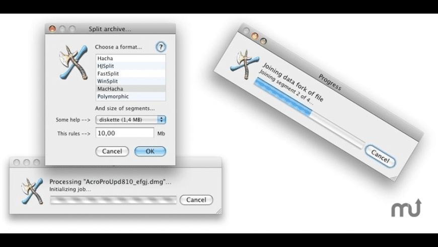 MacHacha for Mac - review, screenshots