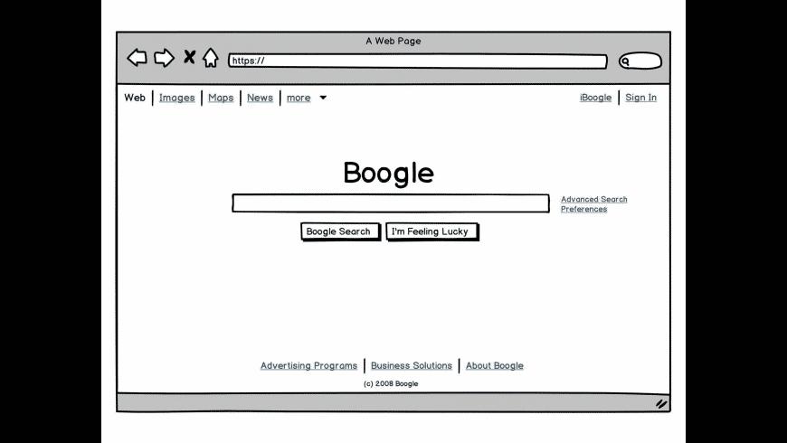 Balsamiq Wireframes for Mac - review, screenshots