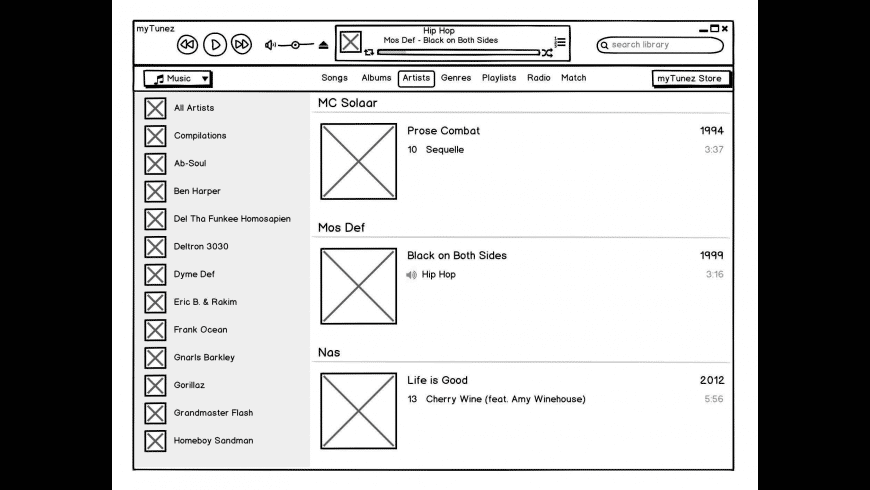Balsamiq Wireframes for Mac - review, screenshots